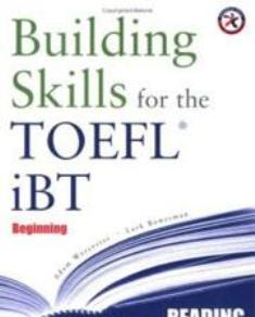 (Building Skills for the TOEFL iBT ,Beginning Reading (Chapter.1