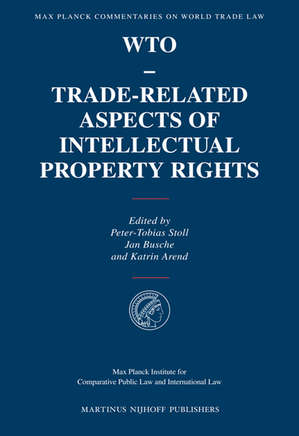 WTO – Trade-Related Aspects of Intellectual Property Rights